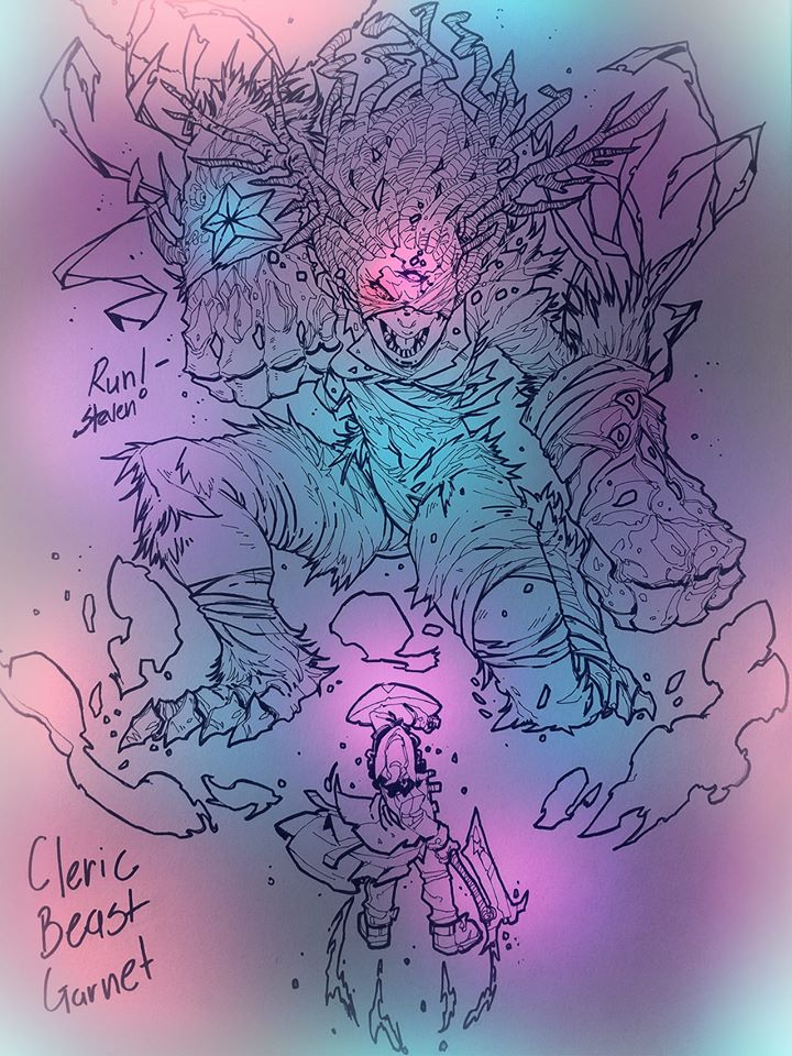Cleric Beast Garnet by Jipeto