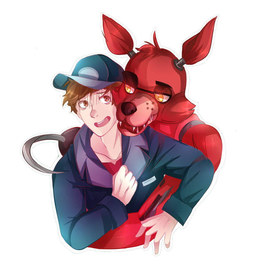 Mike and foxy by thehobbyhorse on deviantart