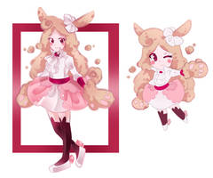[CLOSED] Cotton bunny points adopt - Auction by TheHobbyHorse