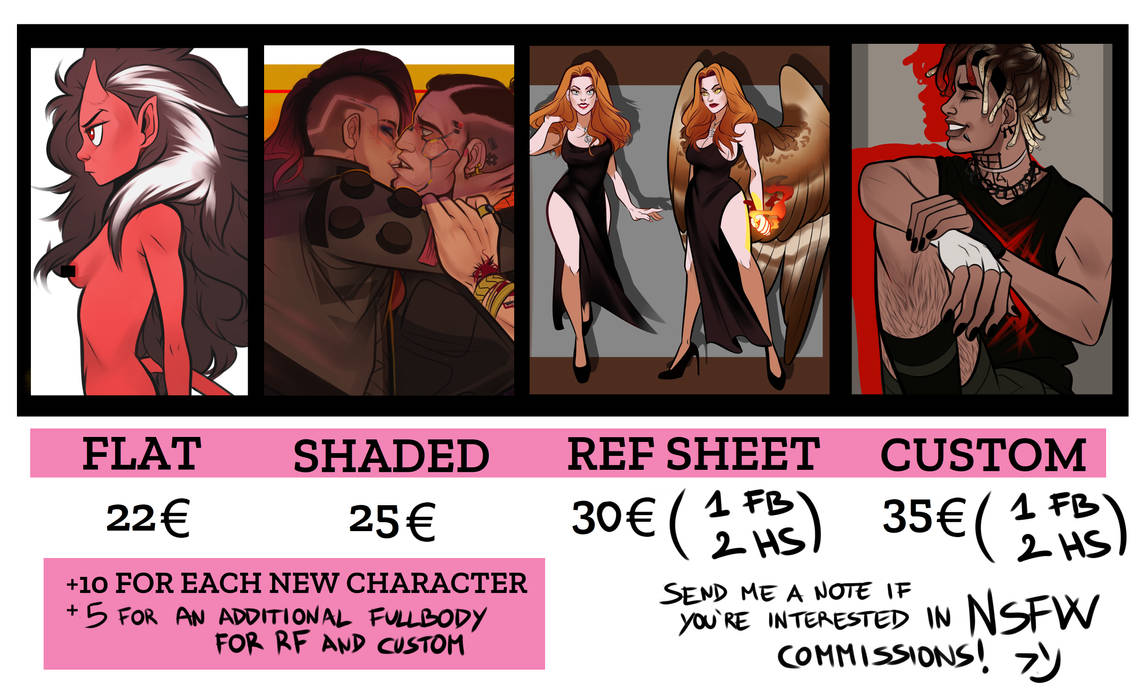 Commission Sheet (WAITING FOR PING LIST ANSWERS)