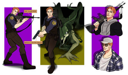 Logan 'O Riley (ref for Doomer Raven)