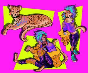 Cheetah - Shapeshifter adopt (CLOSED)