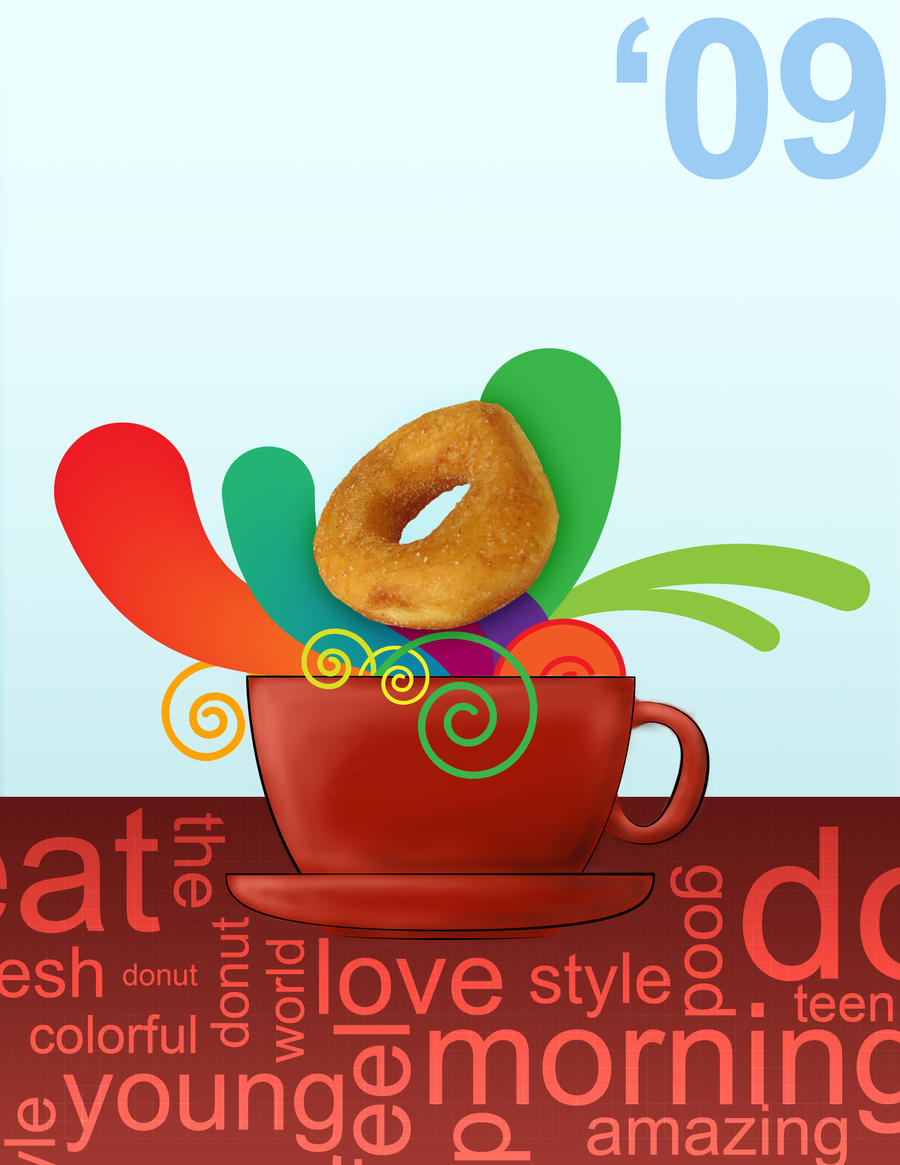 donut poster by Duntiwan