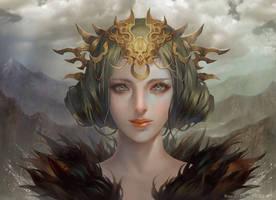 Chinese mythology by rororei