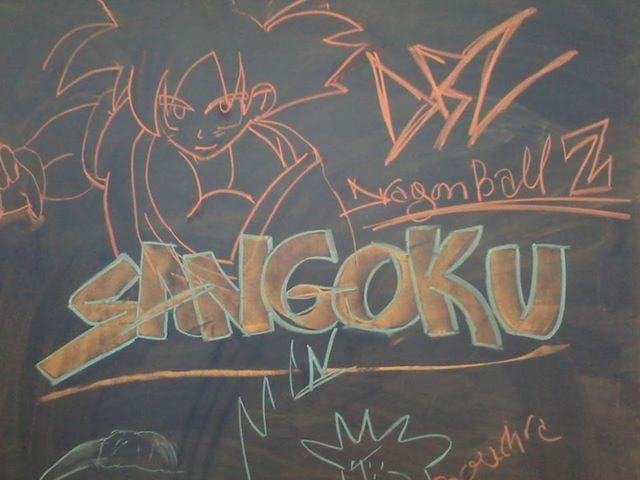 Sangoku le malade!!! by HarpoKendrick