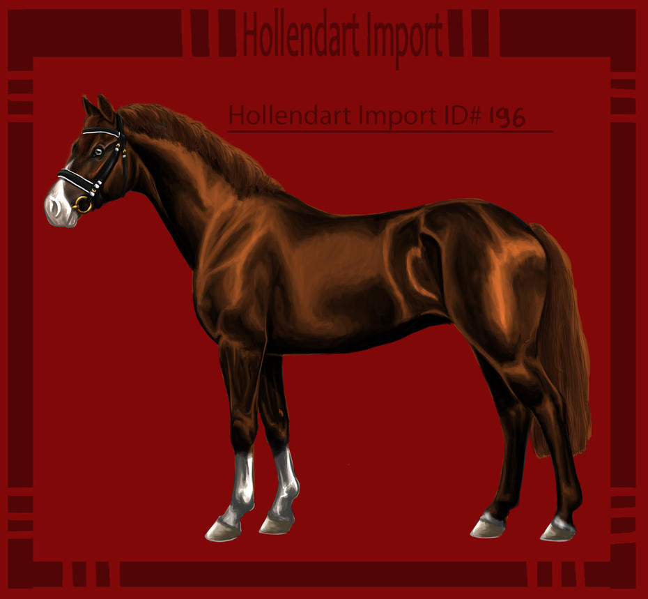 Hollendart Import - #196 by Starblas