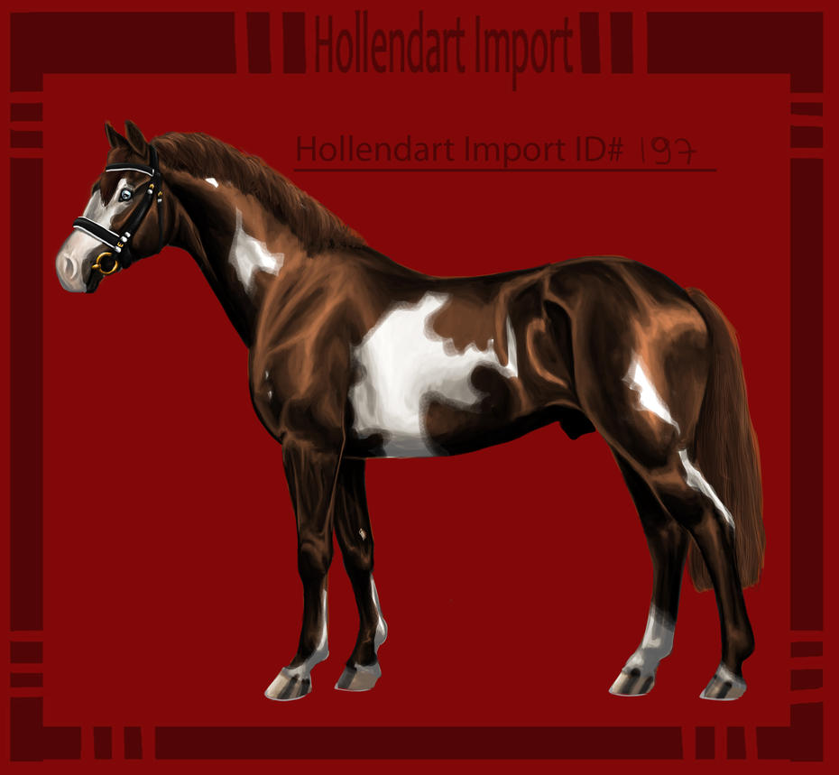 Hollendart Import - #197 by Starblas