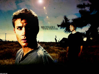 SPN: Dean and Sam by xsaltandburnx