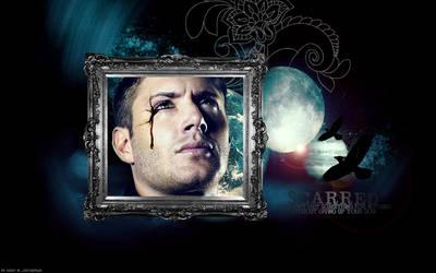 Wallpaper: Dean - Scarred by xsaltandburnx