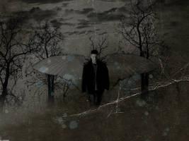 SPN: Dean - Dark Angel by xsaltandburnx