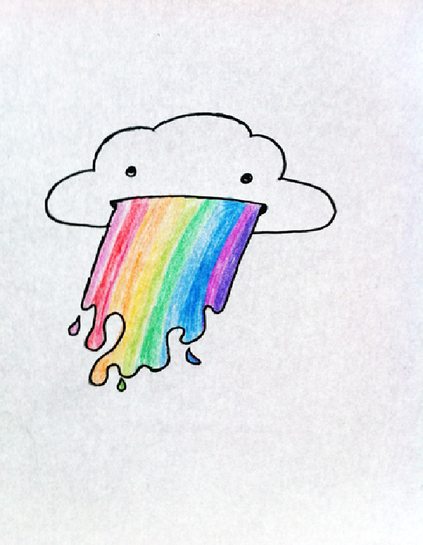 Vomiting Rainbow by Ka...