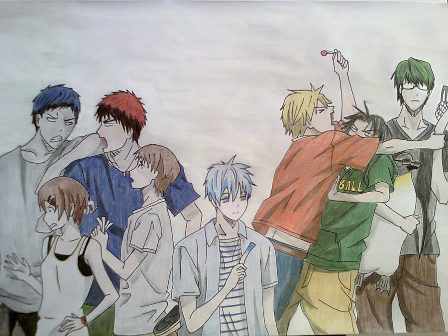 Kuroko no Basket. by ADFlowright