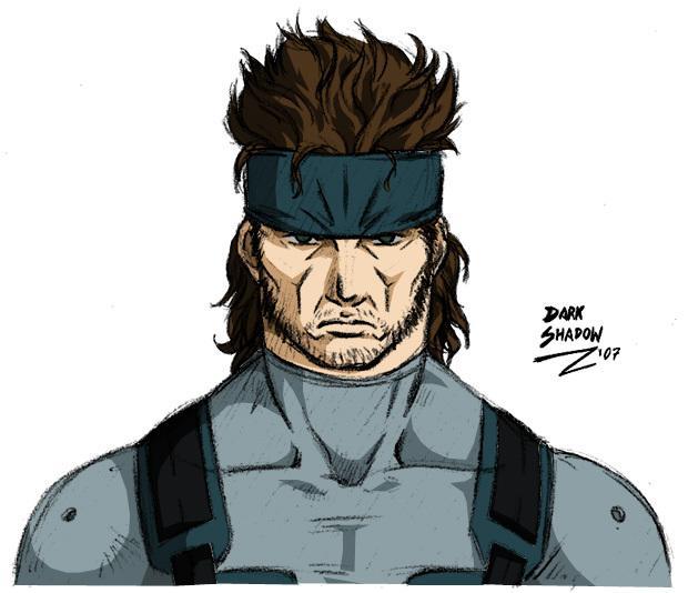 MGS - Solid Snake by DarkShadowArtworks