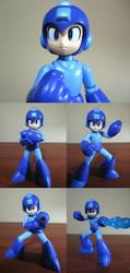 KOTOBUKIYA'S ROCKMAN MODEL KIT by DarkShadowArtworks