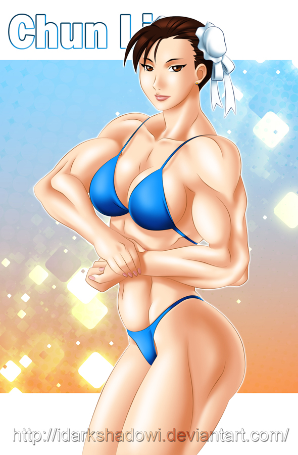 COMMISSION - CHUN LI STRONG by IDarkShadowI