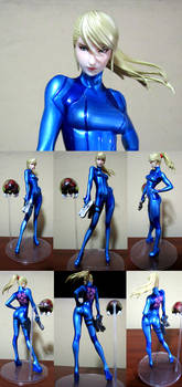 SAMUS ARAN: ZERO SUIT METROID OTHER M MAX FACTOR