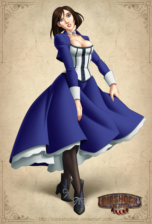 Elizabeth Bioshock Infinite by IDarkShadowI