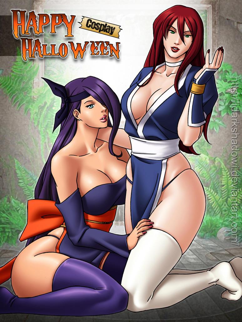 Cosplay Halloween 2014 by IDarkShadowI