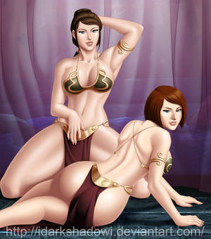COMMISSION - Star Wars Slave Jedi