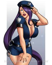 Violet Police Woman