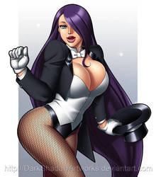 Violet Zatanna cosplay by DarkShadowArtworks