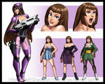 COMMISSION - Viessa Character Profile Sheet
