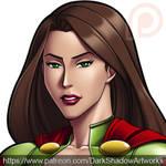 PATREON - Hyper Girl by DarkShadowArtworks