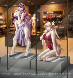 COMMISSION - Emma and Alisa mannequin 2 V2