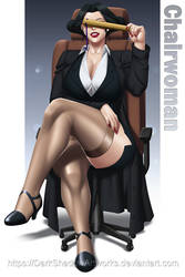COMMISSION - Chairwoman business suit