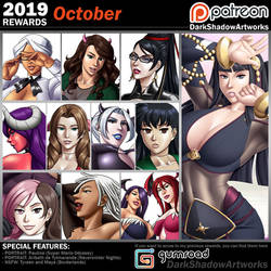 PATREON REWARDS - October 2019