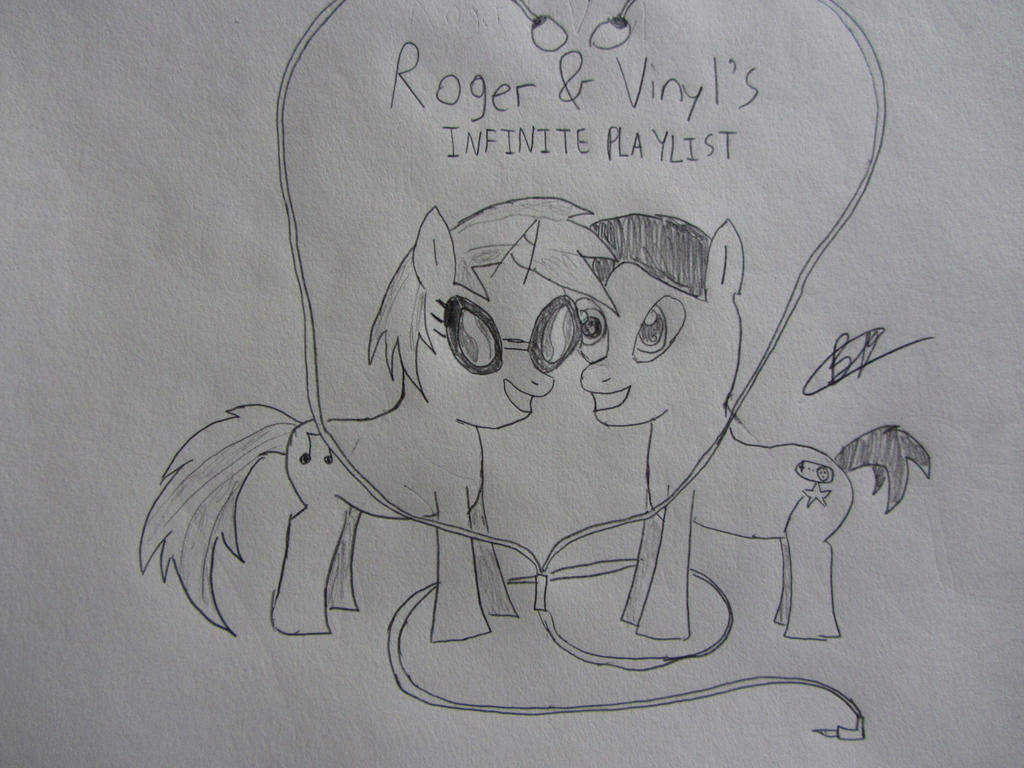 Roger and Vinyl's Infinite Playlist  by BlackBeltDragon95