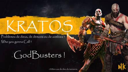 Kratos by Gingko19