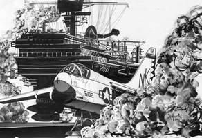 A-7 Corsair by kimdemulder