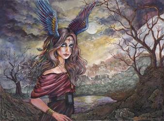FeatherHead by kimdemulder