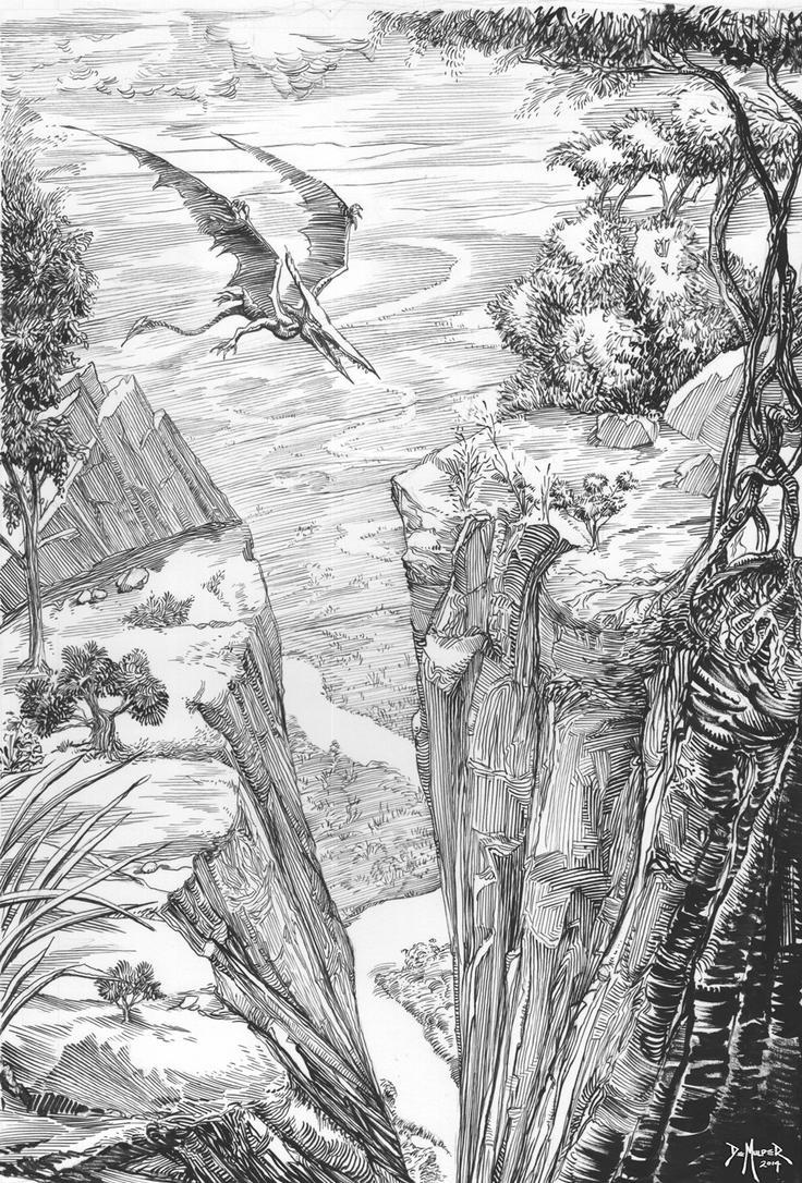 Pterodactyle by kimdemulder