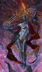 Fantasy Collage Girl by kimdemulder