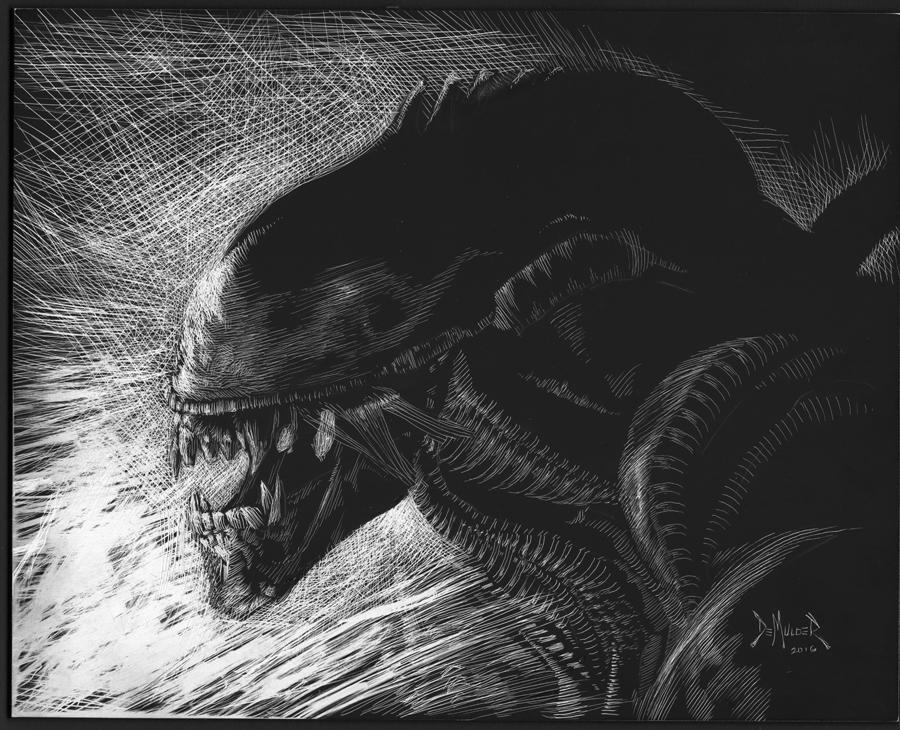 AlienScratchboard by kimdemulder