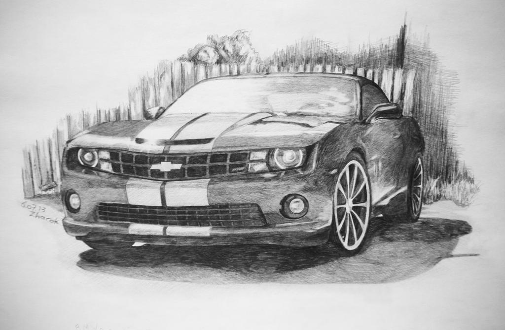Chevrolet camaro SS by Zharok