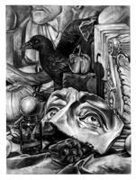 Charcoal Still Life by Fleurdelyse