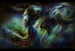 Skeletal Creature - 01 by Fleurdelyse