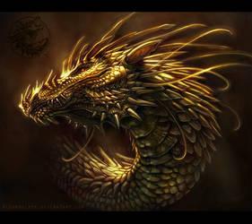 Dragon Portrait - 01
