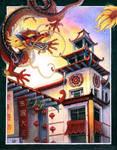 Chinatown by ArtofCarolyn