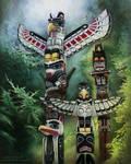 Totem Poles by Fleurdelyse