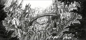 Gothic Architecture by Fleurdelyse