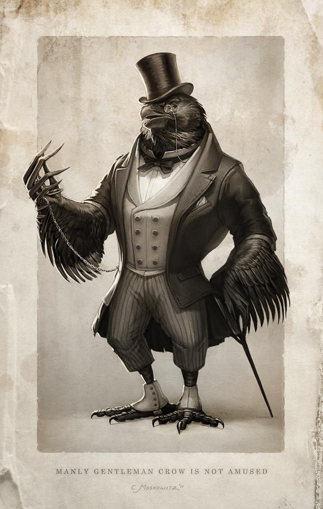 Gentleman Crow by Fleurdelyse on DeviantArt