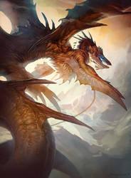 Flying Draconis by ArtofCarolyn