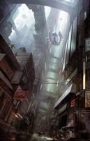 City On Edge by Fleurdelyse