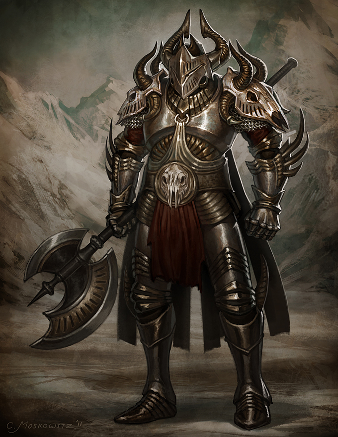 Dark Warrior by Fleurdelyse on DeviantArt