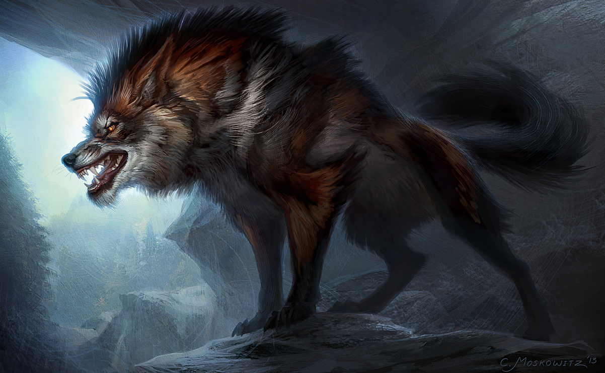 Evil Wolf Face weapon as well  the wolf