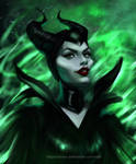Maleficent by iSlifer